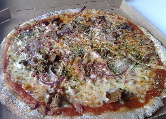Berlusconi (Reindeer) pizza