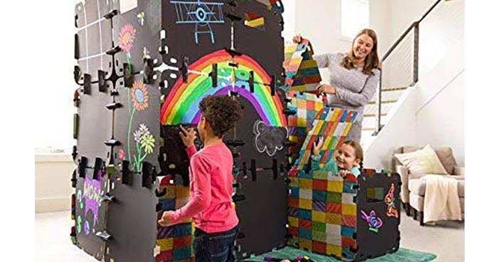 Chalkboard Fantasy Fort Building Set