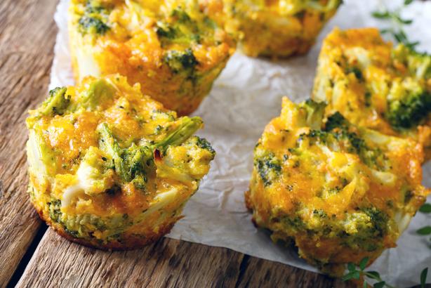 Cheddar Broccoli Egg Muffins