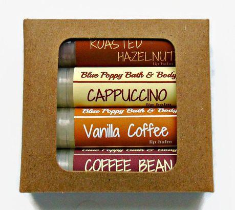Coffee Lip Balm assortment
