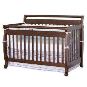magnifier toddler cribs convertible crib parker in davinci w rails raw natural