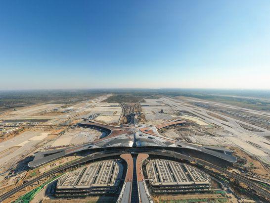 Daxing Airport exterior