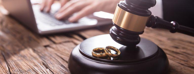 Gavel & Wedding Rings