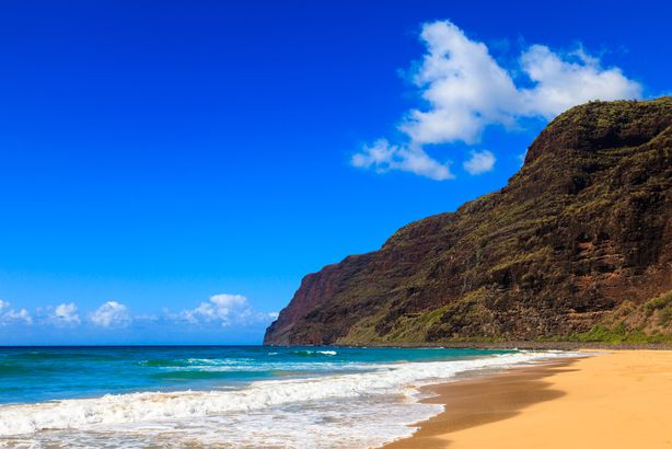 Polihale Beach, Hawaii