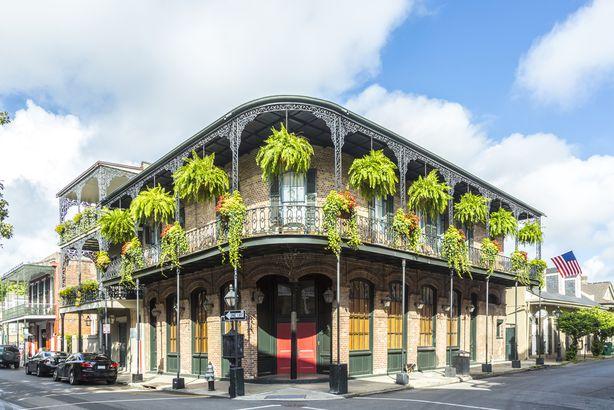 Historic homes in Louisiana