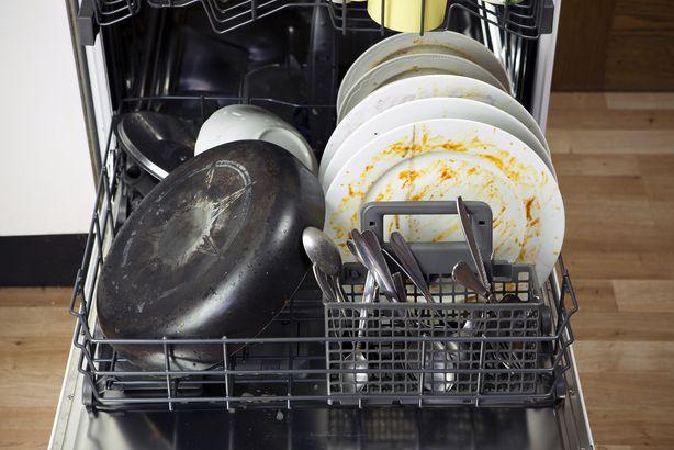 Dirty dishwasher