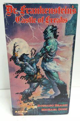 Dr. Frankenstein Castle of Freaks VHS