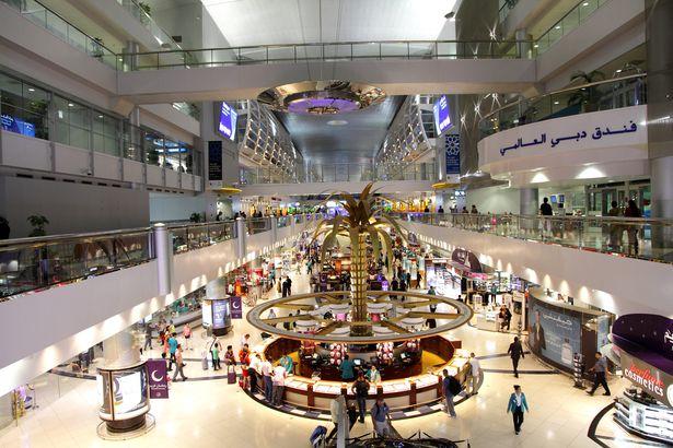 Dubai International Airport interior