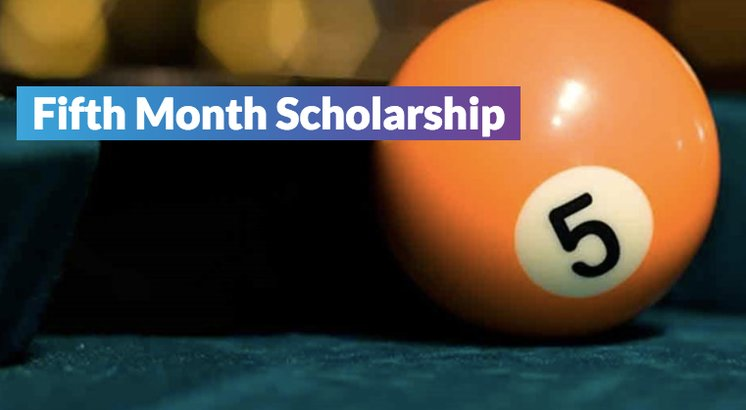 promo for unigo's fifth month scholarship