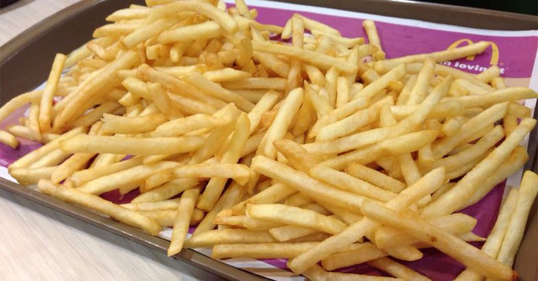 Tray of McDonald's Fries