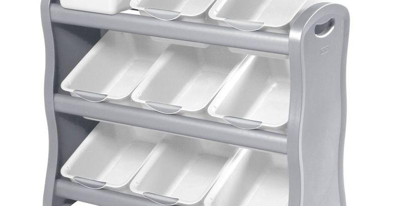 Sterilite 9-Bin Storage Rack