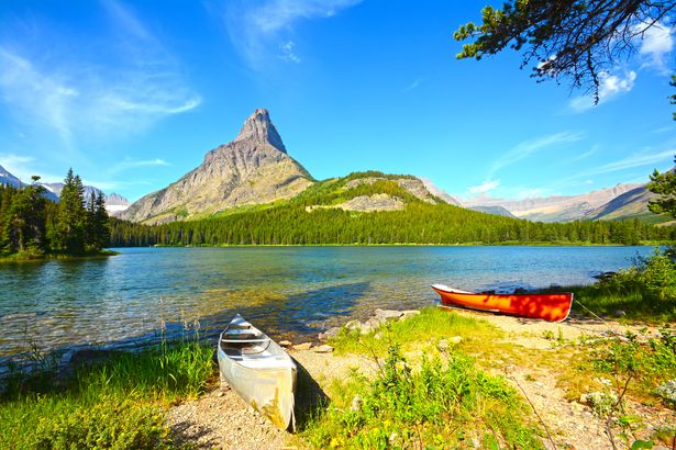 Glacier National Park, Swiftcurrent Lake