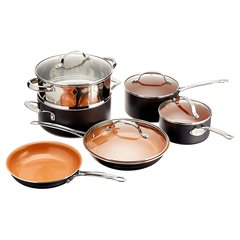 Gotham Steel Nonstick Ti-Cerama 10-Piece Set