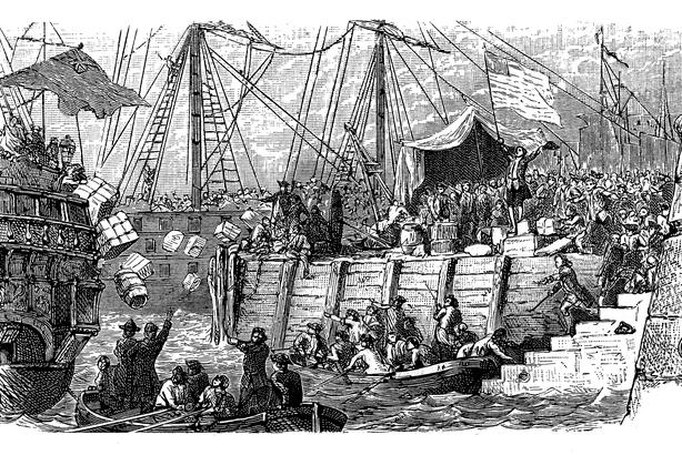Boston Tea Party depiction