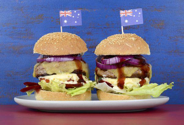 Hamburger with Beetroot