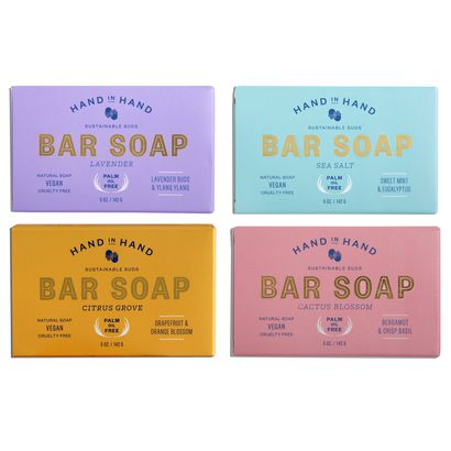 Hand in Hand soap set