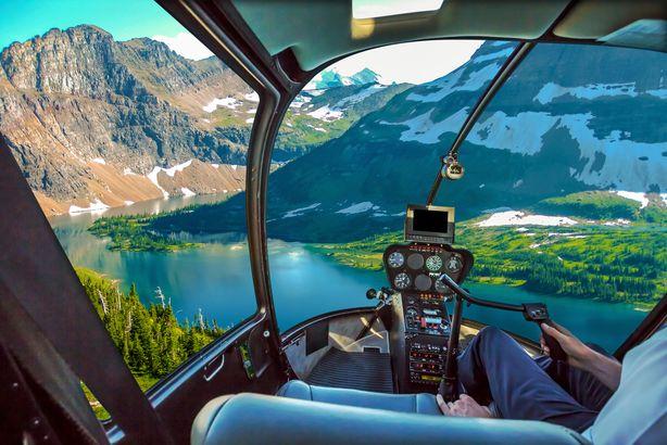 Hidden Lake Overlook in Glacier National Park