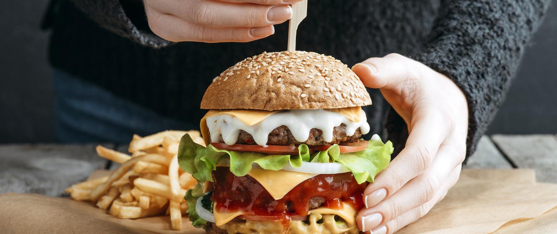Unhealthiest Restaurant Cheeseburgers