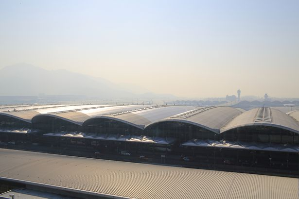Hong Kong International Airport exterior