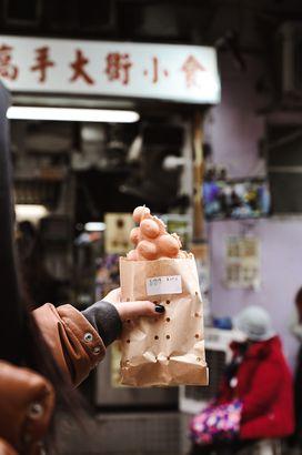 Hong Kong's Egg Waffle