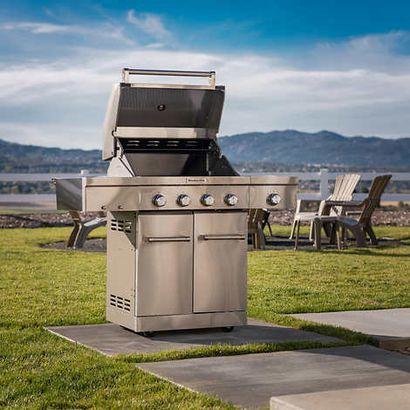 KitchenAid gas grill
