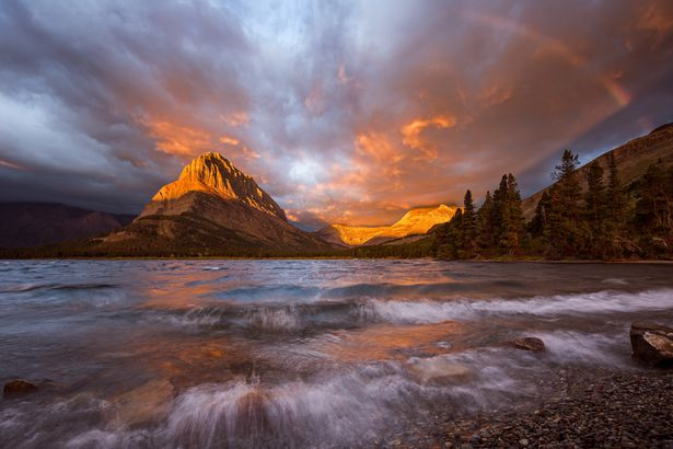 Lake of Fire-Glacier National Park