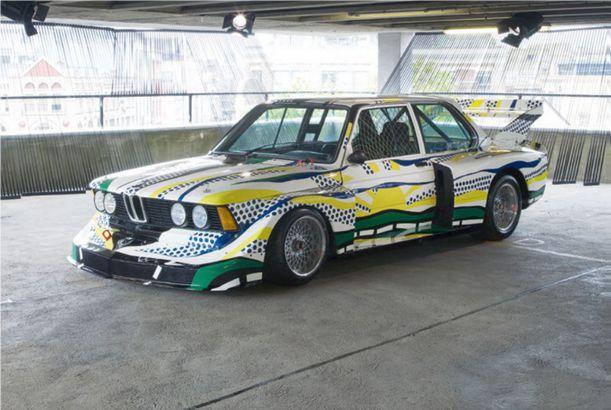 BMW art car designed by Roy Lichtenstein