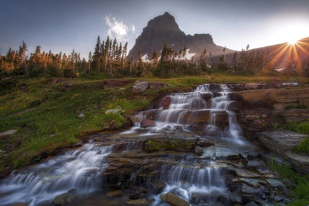 Logan Pass Sunburst