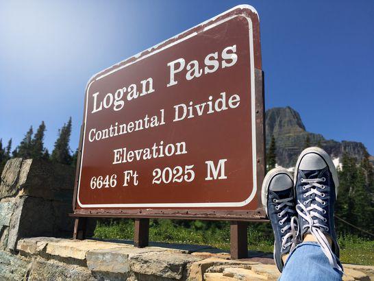 Logan's Pass in Glacier National Park