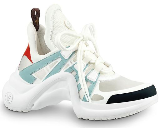 55490fcf90e4 THE LOOK  LOUIS VUITTON LV ARCHLIGHT SNEAKERS