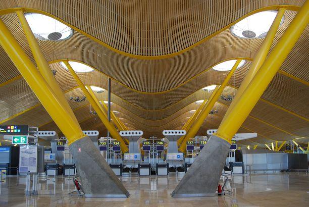 Madrid-Barajas departure terminal