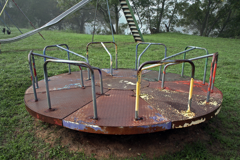 The Unsafe Child Less Outdoor Play Is >> Classic Playground Equipment You Won T Find These Days