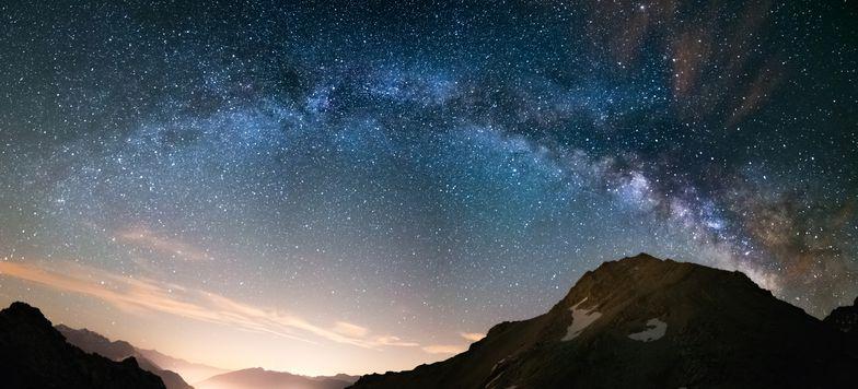 Milky Way arch