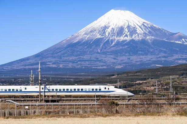 Mount Fuji Shinkansen
