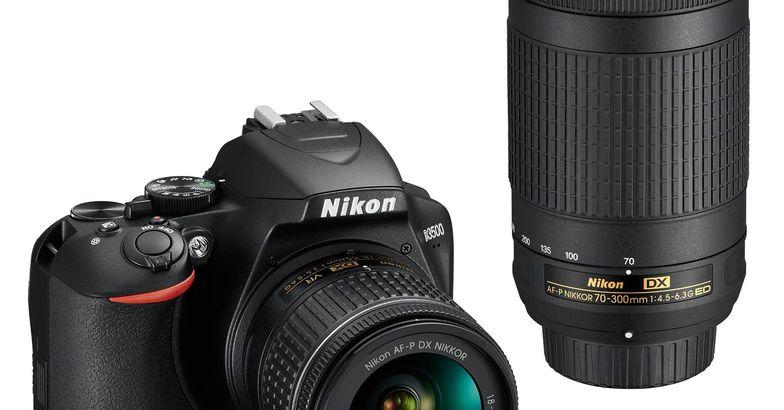 Nikon D3500 DSLR Camera Bundle