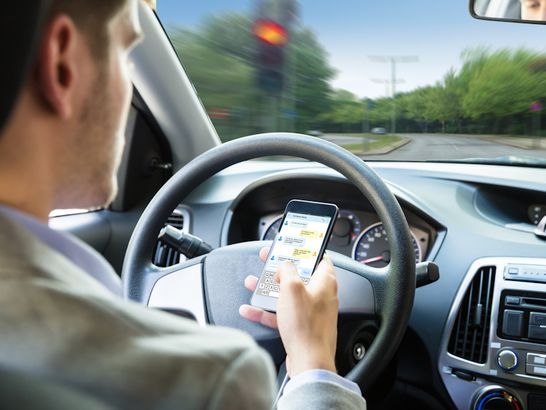 An Uptick In Distracted Driving