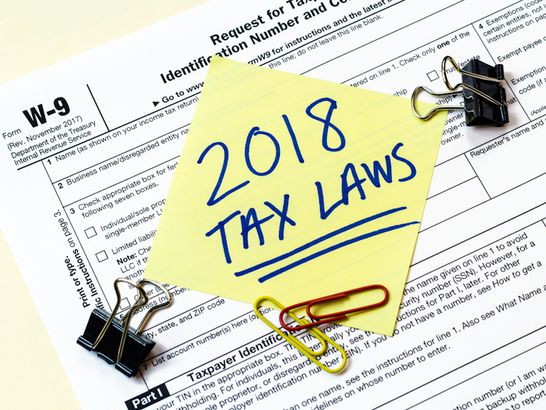 Know The New Tax Laws