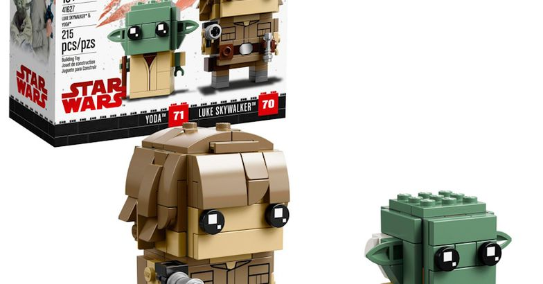 Lego Brickheadz Luke Skywalker And Yoda