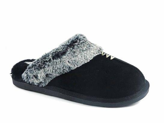 c63940404fb9 Secret Treasures Suede Women s Clog Slippers