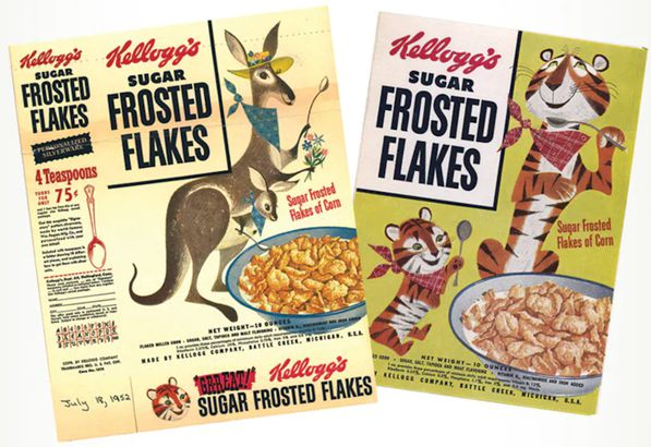 Tony The Tiger Had Competition
