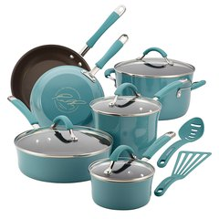Rachael Ray Cucina Hard Enamel Nonstick 12-Piece Set
