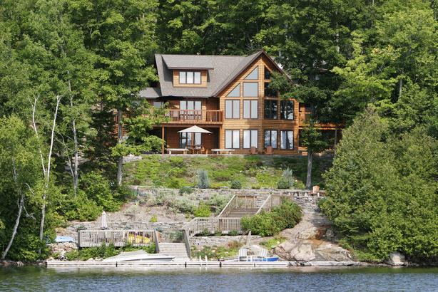Vacation home at a lake