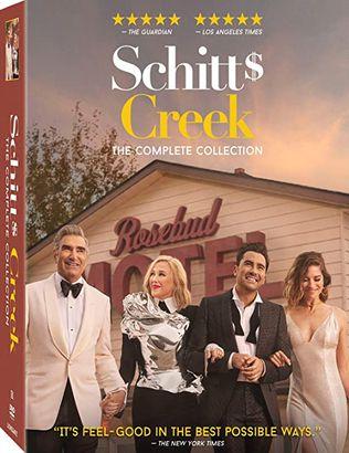Schitt's Creek DVD collection
