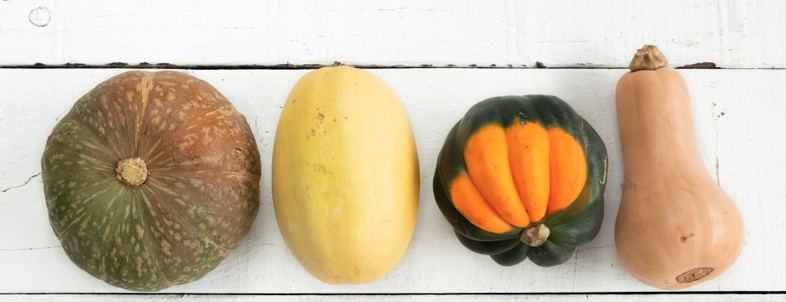 4 seasonal squashes & how to prepare them