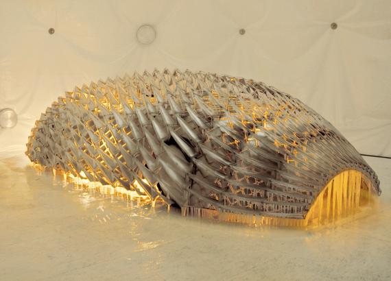BMW art car designed by Olafur Eliasson