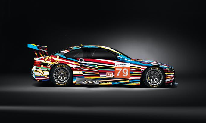 BMW art car designed by Jeff Koonz