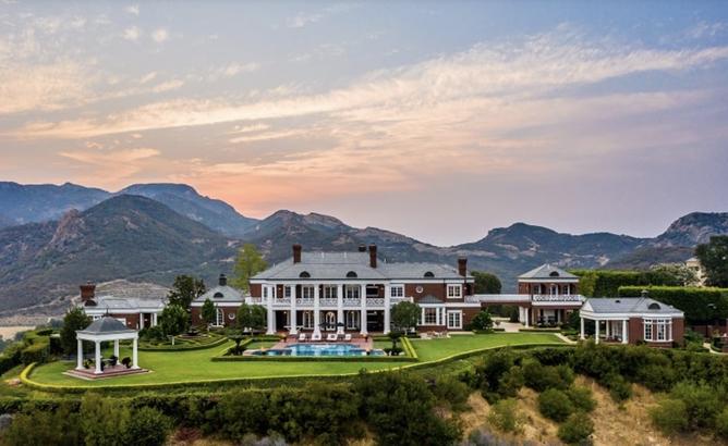 Wayne Gretzky's house in California