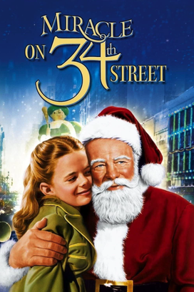 Miracle on 34th Street promotional poster