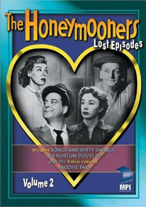 The Honeymooners Lost Episodes DVD cover