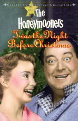 The Honeymooners Christmas episode DVD cover